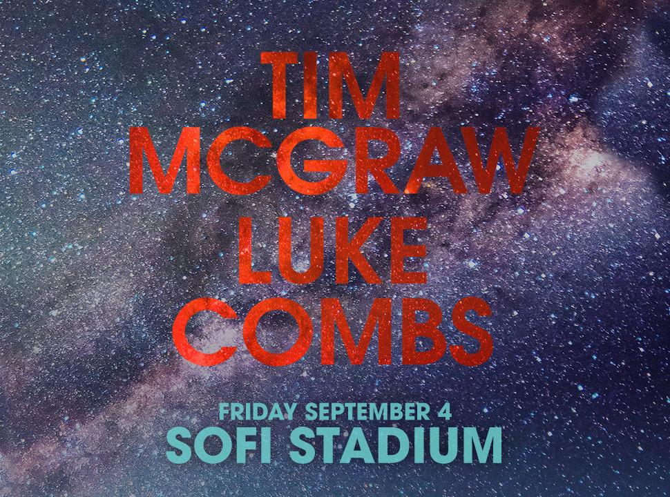 Tim McGraw + Luke Combs