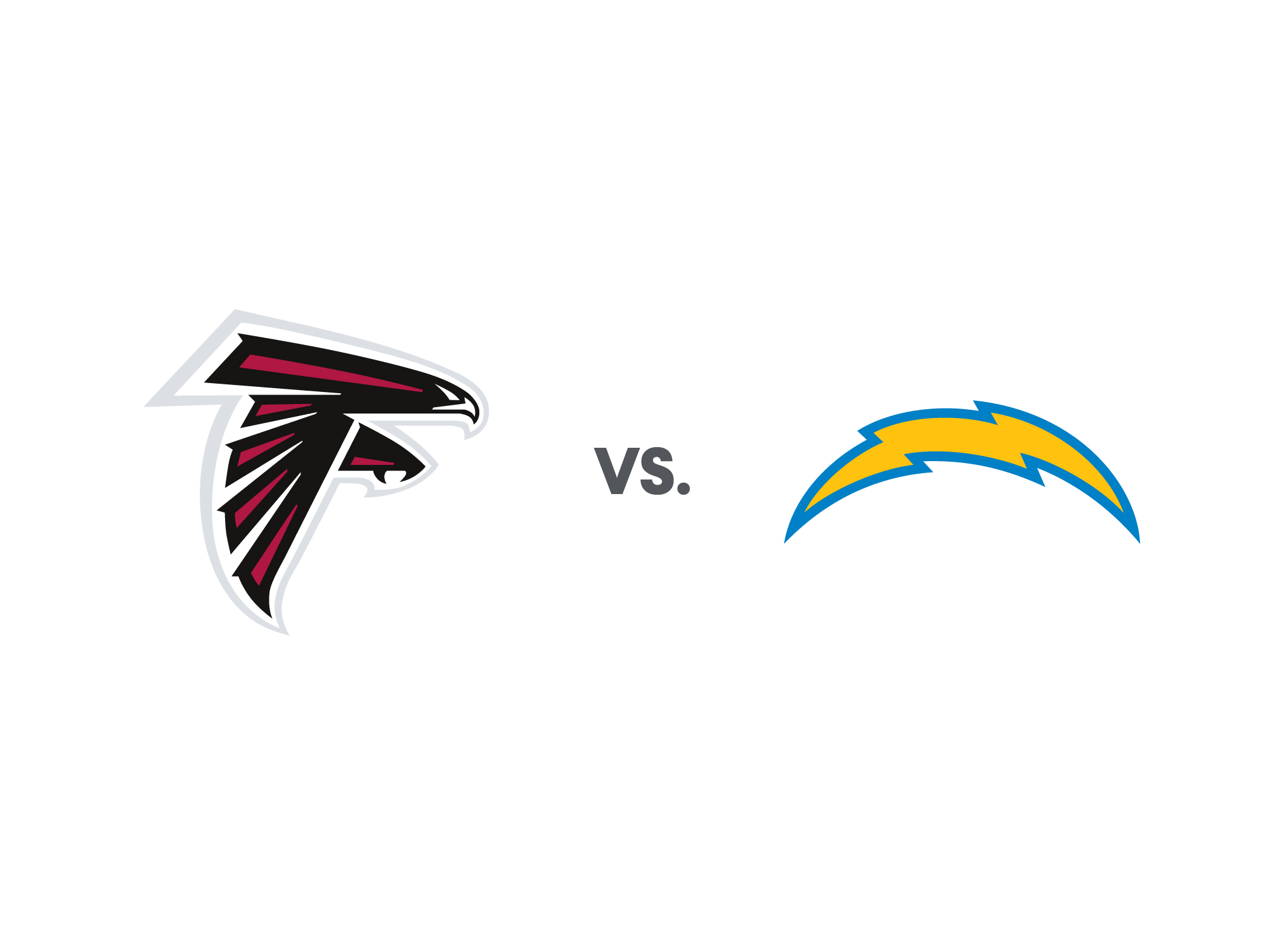 Chargers vs Falcons