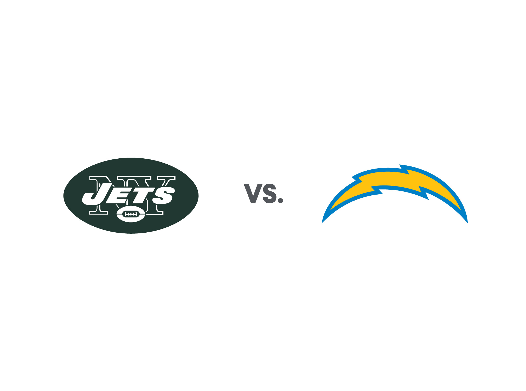 Chargers vs Jets