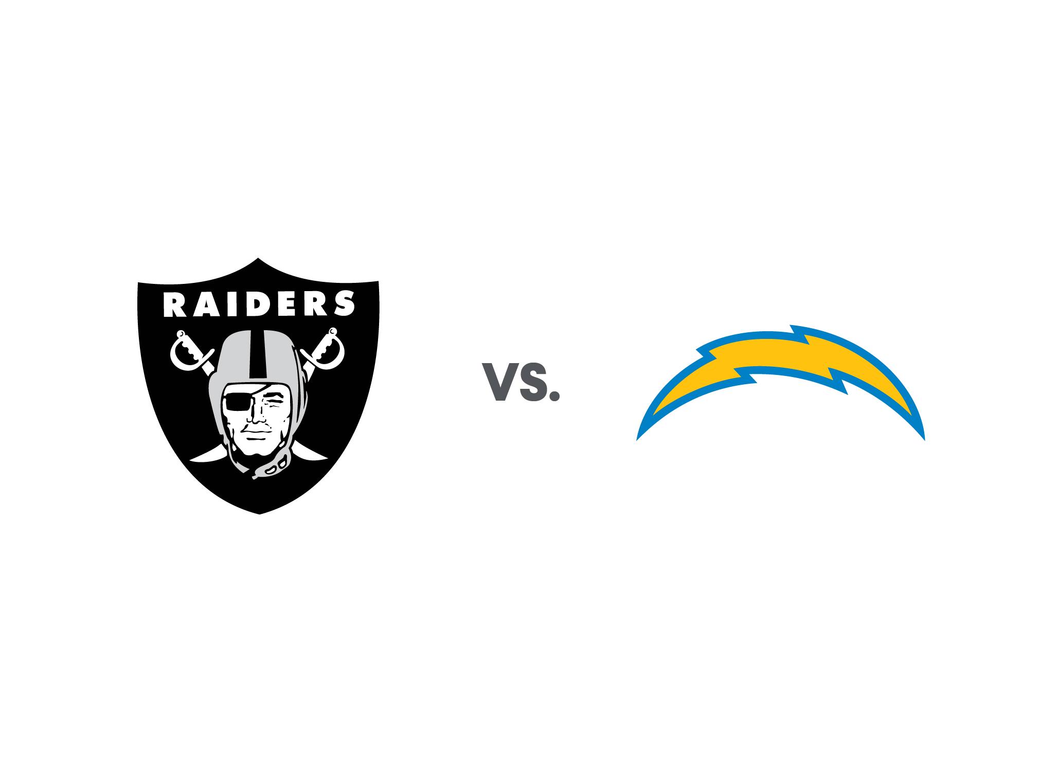 Chargers vs Raiders