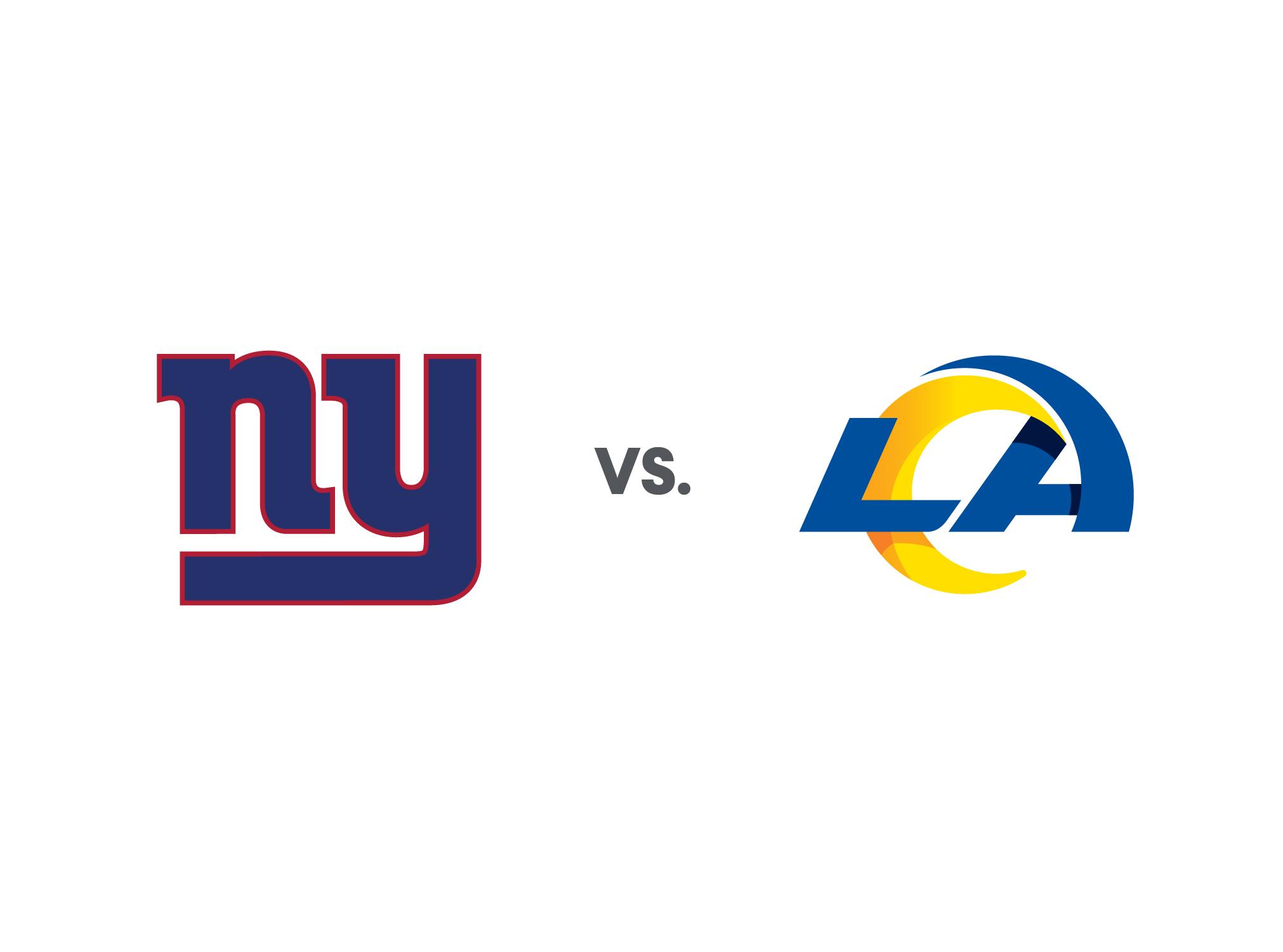 Rams vs Giants