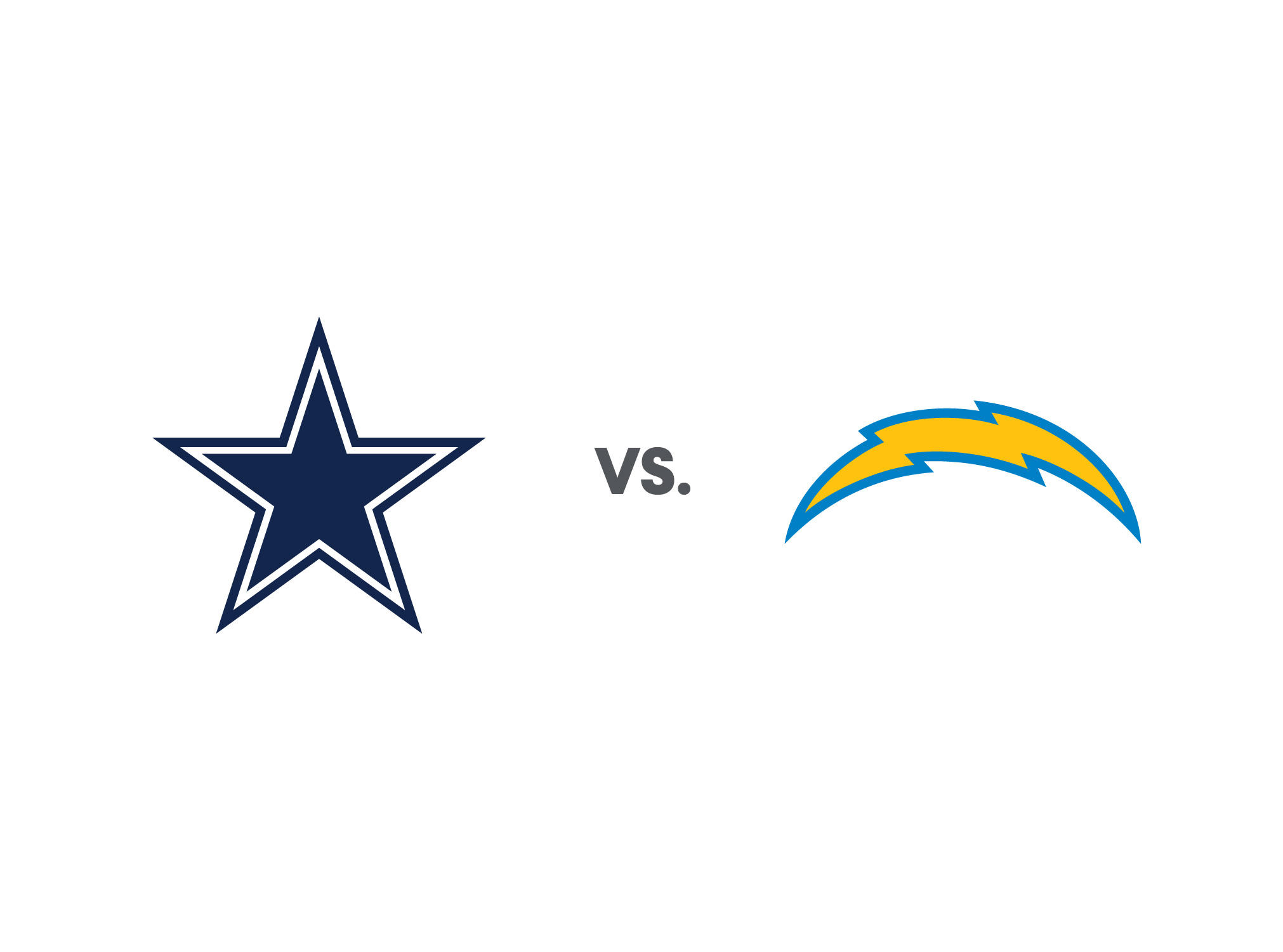 Chargers Vs Cowboys