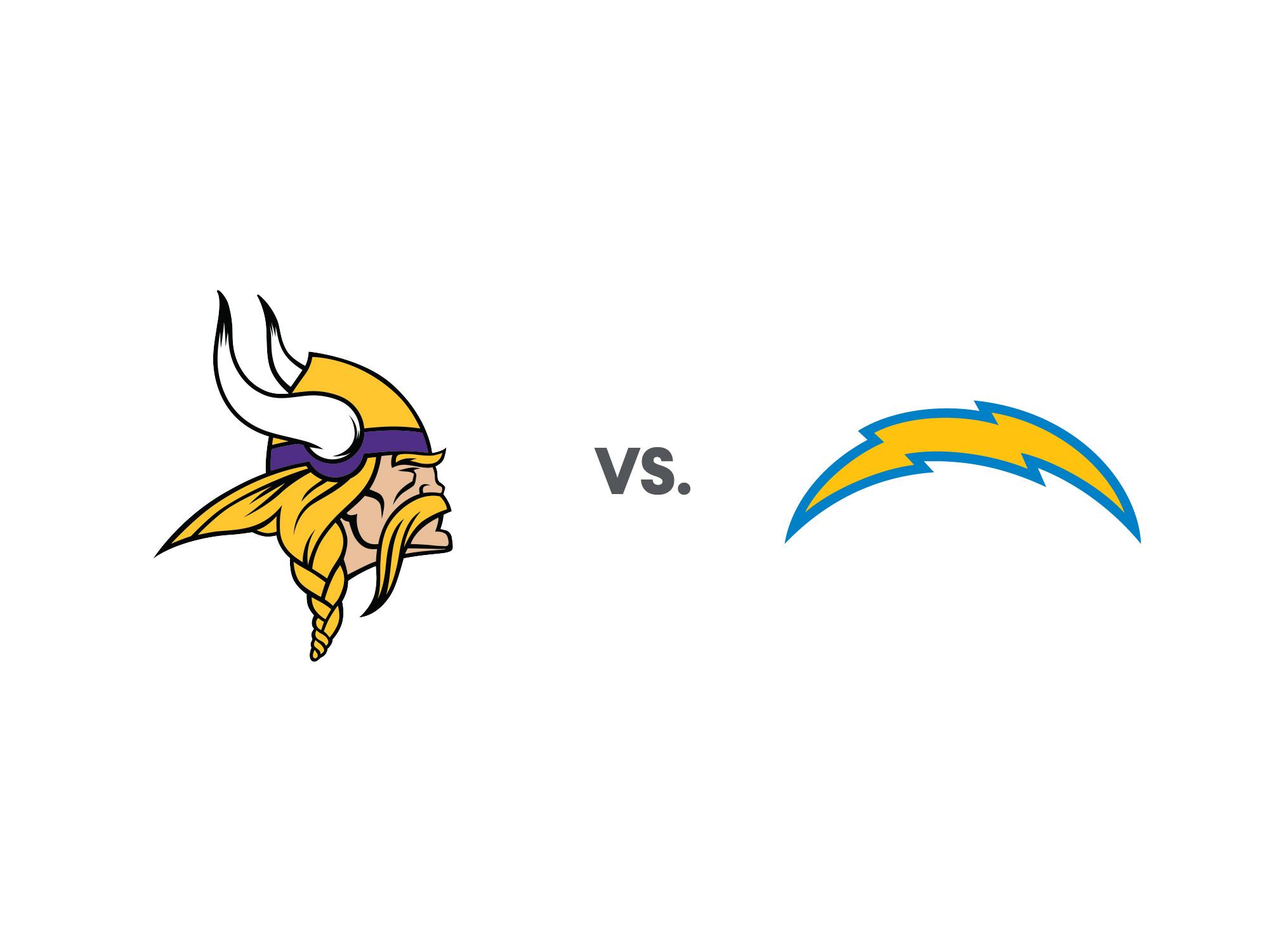 Chargers Vs Vikings