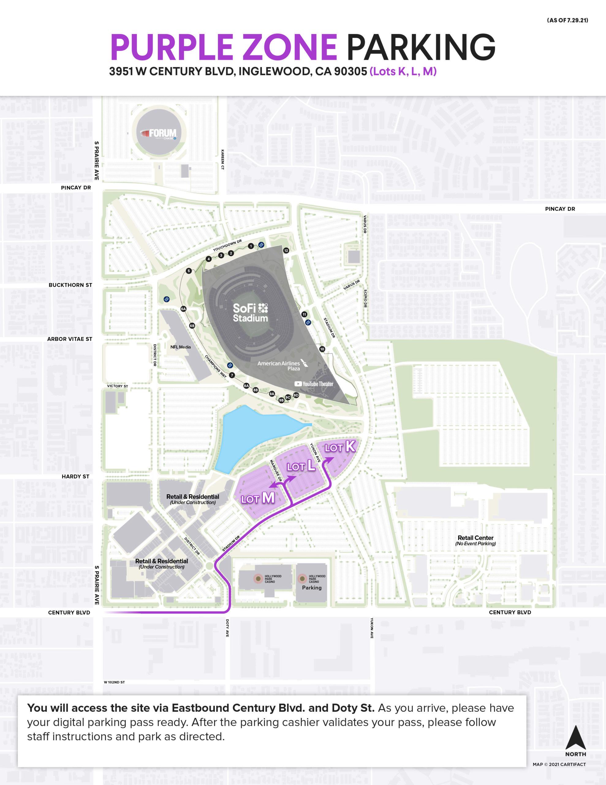 Parking & Transportation   SoFi Stadium